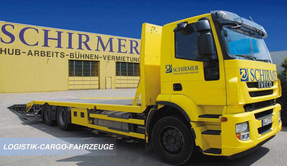 Logistik-Cargo-Fahrzeuge